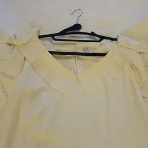 Cream Leifsdottir blouse